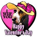 Basset Hound  Valentines Day Gifts