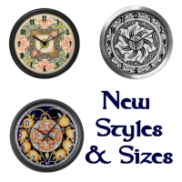 Wall Clocks ~ 3 Styles!