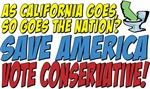 Save America, Vote Conservative!