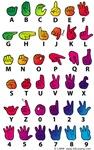 Rainbow Fingerspelled ABC