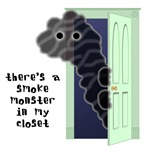 Smoke Monster in Closet