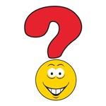 Smiley Face Question Mark Design
