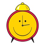 Smiley Face Alarm Clock
