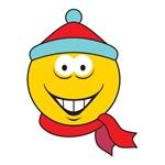 Winter Fun Smiley Face