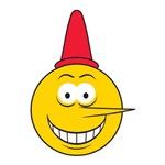 Funny Liar Smiley Face