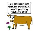 VEGETARIAN COW GREEN PROTIEN
