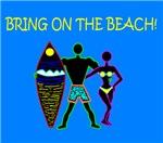 BRING ON THE BEACH - BLUE