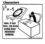ZERO KEEPS SEEING IMAGINARY NUMBERS