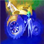 ALIEN LAND RIDE - ART