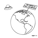 Earth is Full, Go Home!
