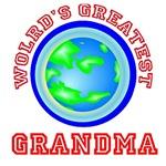 World's Greastest Grandma Shirts, T shirts