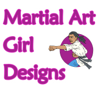 Martial Art Girl Designs