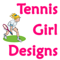 Tennis Girl Designs