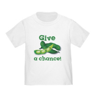 Give Peas a Chance T Shirts Toddler Baby Gifts