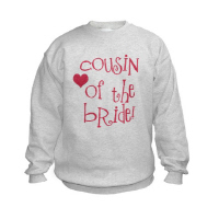 Cousin of the Bride Wedding Apparel Hip T Shirt