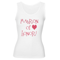 Matron of Honor Wedding Hip T Shirts Grafitti