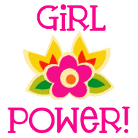 Cool Girl Power Flower T-Shirts Gifts