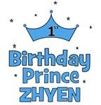1st Birthday Prince Zhyen!