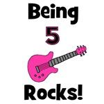 Being 5 Rocks! Pink