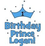 1st Birthday Prince Logan!