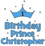 1st Birthday Prince CHRISTOPHER!