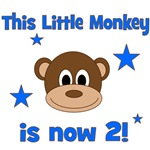 This Little Monkey is 2!