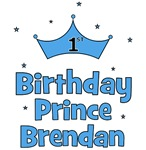 BRENDAN - 1st Birthday Prince