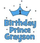 1st Birthday Prince GRAYSON!