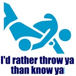Judo shirts: Rather throw ya than know ya