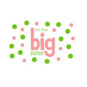 i'm the big sister polkadot