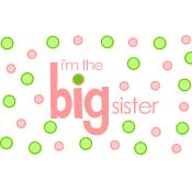 big sister polkadot