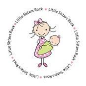 little sisters rock big sister shirt