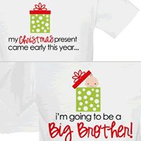 i'm going to be a big brother christmas