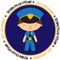 Boy Occupation Police Like Mommy