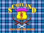 Scotland only for the brave lion