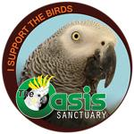 Birds of The Oasis African Grey Collection