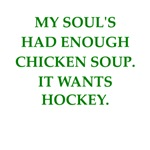 a great hockey joke on gifts and t-shirts.