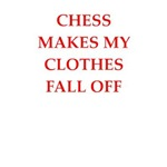 a funny chess player joke on gifts and t-shirts.