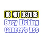 Do Not Disturb: Busy Kicking Cancer's Ass