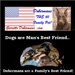Dobermans are a Family's Best Friend