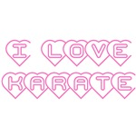 I Love Karate T-Shirts and Gifts