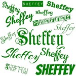 Sheffey Green Fonts - 9568