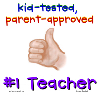 4. Thumbs Up - #1 Teacher