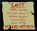 Sanity Lost Reward Offered