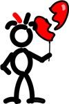 Broken Heart Balloon