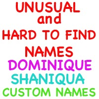 Unusual Names