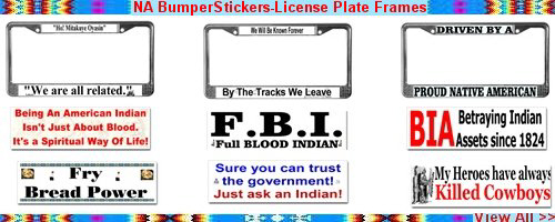 NA BumperSticker-License Plates Frames
