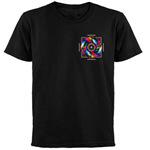 lightSOURCE Black 'Over Heart' T-Shirts
