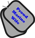Proud Wife - Dog Tags