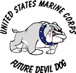 USMC Future Devil Dog Design - Black